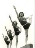 大谷高校の体操部員