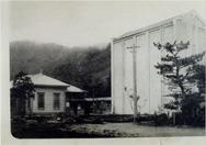 旧私立函館図書館と不燃失書庫