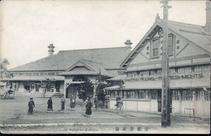 室蘭停車場 THE MURORAN STATION.