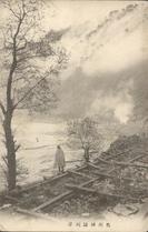 信州諏訪湖岸