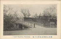 信州上諏訪高島城大手先 A Castle Takashima Kamisuwa.