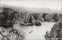 佐渡 金泉村 あげ島より尖閣湾を望む