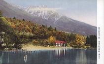 秋の妙高々原 清澄の野尻湖畔と神奈山
