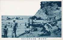 (柏崎名勝) 鯨波海岸海水浴場