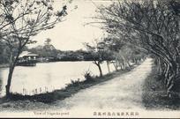 長岡天神境内池畔風景 View of Nagaoka pond