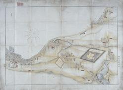 函館五稜郭周辺絵図